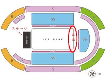 神戸ワールド記念ホール ファンタジーオンアイス座席表